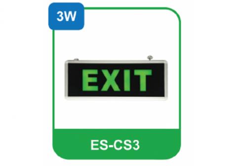 Đèn led Exit thoát hiểm mẫu C Vinaled