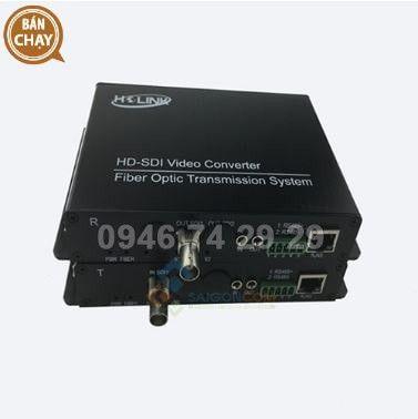 Bộ chuyển đổi quang video 1 kênh HoLink HL-1V1D-20T/R-1080