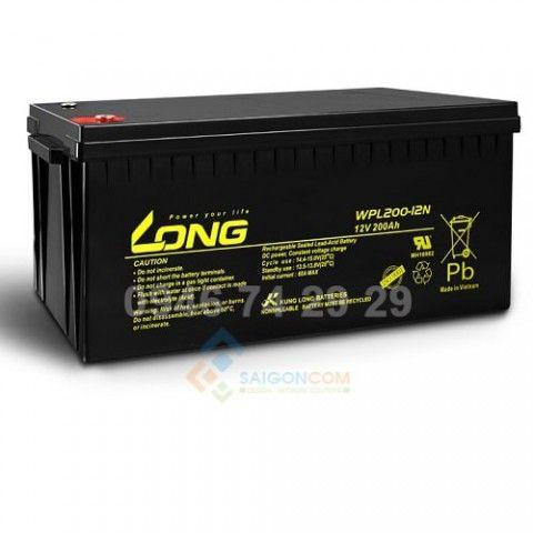 Ắc quy Viễn thông 12V-150Ah- Long-WPL - công nghệ Taiwan, sản xuất tại Việt Nam