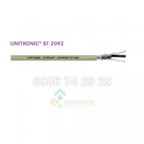Cáp điều khiển LAPP KABEL – Thương hiệu Đức, Unitronic-ST 1x2x18AWG  =  1 Pair 18AWG  (Shielded twisted pair 18AWG, UL 2092 approved)