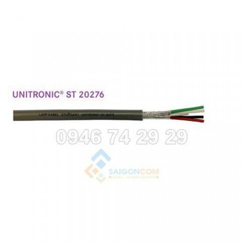 Cáp điều khiển LAPP KABEL – Thương hiệu Đức, Unitronic-ST 1x2x16AWG  = 1 Pair 16AWG  (Shielded twisted pair 16AWG, UL 20253 approved)
