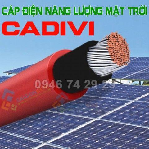 【Cáp điện Solar CADIVI】Cáp điện năng lượng mặt trời CADIVI 4.0