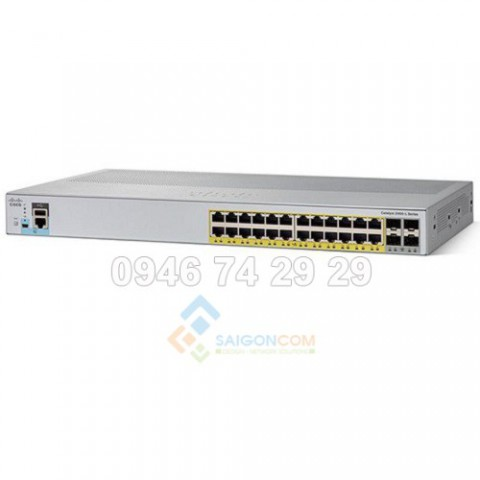 Switch Cisco WS-C2960L-24TS-AP Catalyst 2960L 24 port GigE, 4 x 1G SFP, LAN Lite