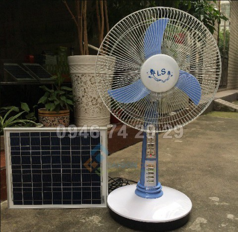 Quạt năng lượng mặt trời LS 15w