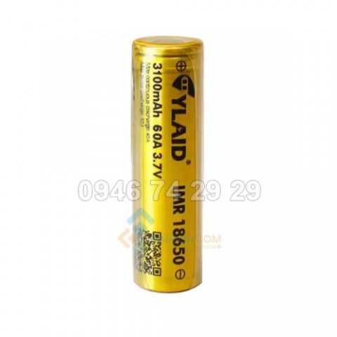 pin cylaid 3100mah 60a 3,7v