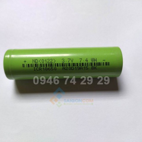 cell pin cylaid 3400mah 10A 3,7v