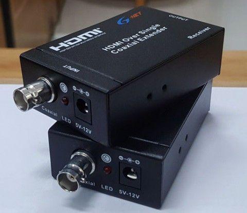 Bộ chuyển đổi HDMI qua nền cáp đồng trục g-hdv-cr100t/r