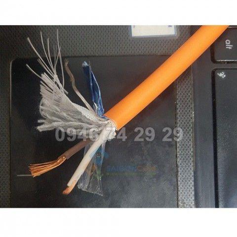 Cáp TRIO KABLO/ Thổ Nhĩ Kỳ tín hiệu, chống nhiệu, chống cháy  1x2Cx1,0mm², 300V