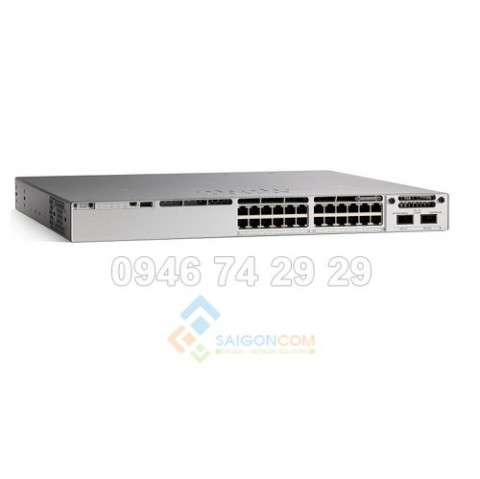 Switch Cisco C9300-24T-A Catalyst C9300 24 ports 10/100/1000Mbps