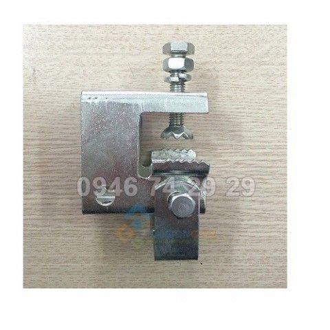 Kẹp xa gồ gỗ chữ C loại nhỏ dùng cho lắp tấm pin