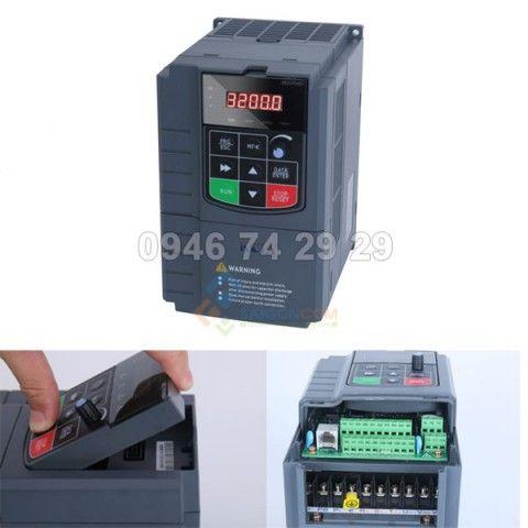 Biến tần 1.5kW - 1 Pha ra 3 Pha KCLY KOC600-1R5GT3