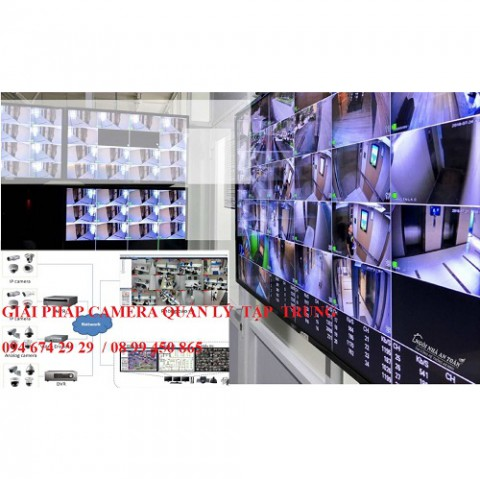 Phần mềm  quản  lý  hệ  thống  camera tập trung
