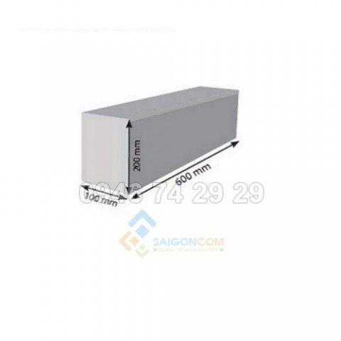 Gạch chưng áp AAC 600x200 x100mm