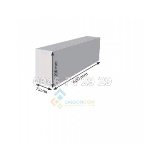 Gạch chưng áp AAC 600x200 x75mm