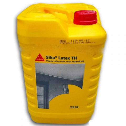Sika Latex TH 25 lit Phụ Gia Sửa Chữa Bê Tông