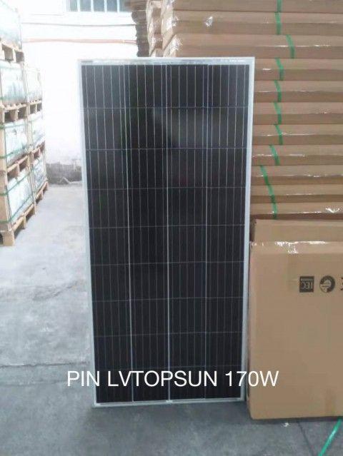 Tấm pin năng lượng mặt trời Mono 170W LVTOPSUN