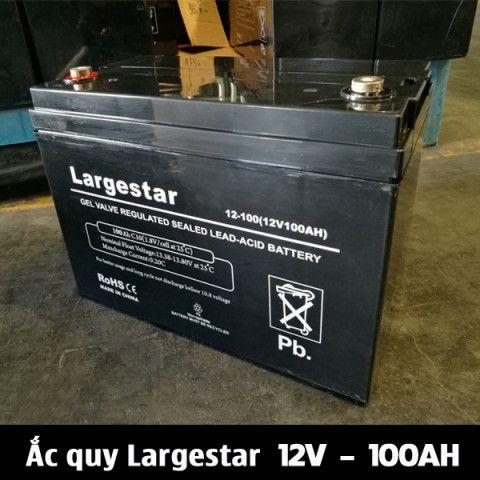 Ắc quy AGM Gel LARGESTAR 12V-100Ah