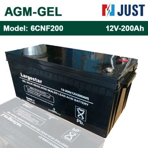 Ắc quy AGM Gel LARGESTAR 12V-200Ah