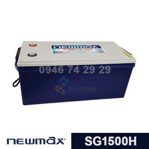 Ắc quy Newmax Solar GEL SG1500H (12V-150ah)
