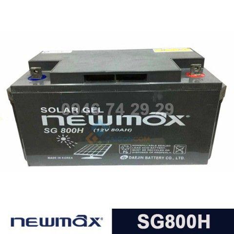 Ắc quy Newmax Solar GEL SG800H (12V-80Ah)