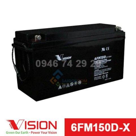 Ắc quy VISION 6FM150D-X (12V-150Ah)