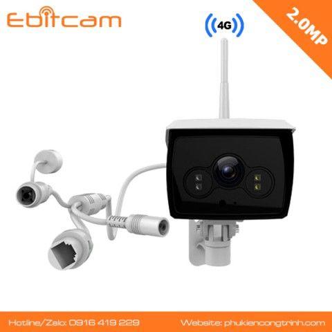 Camera 4G ngoài trời Ebitcam EBO2 - 2MP