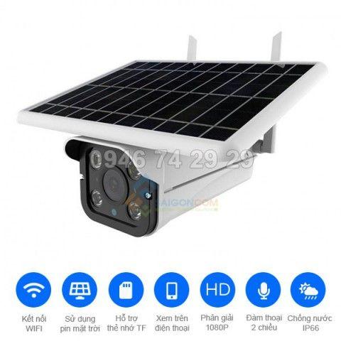 Camera năng lượng mặt trời A8-WIFI-PLUS