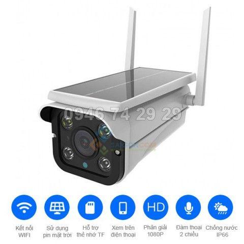 Camera năng lượng mặt trời A8-WIFI
