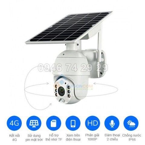 Camera năng lượng mặt trời Q3-4G