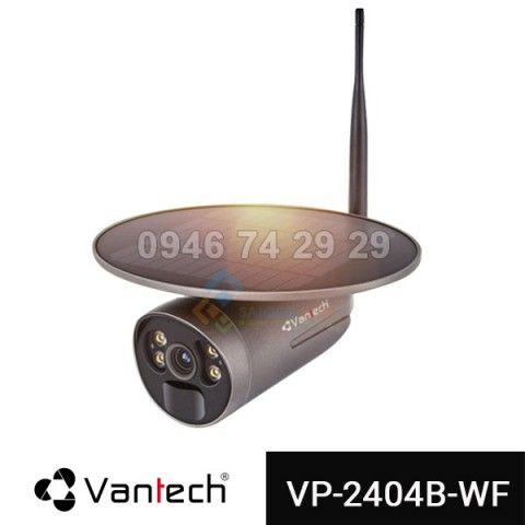 Camera năng lượng mặt trời VANTECH VP-2404B-WF