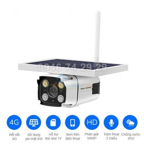 Camera năng lượng mặt trời YN88-4G