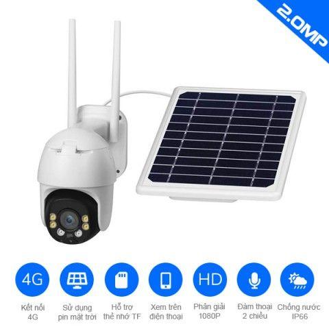Camera năng lượng mặt trời YN90-4G