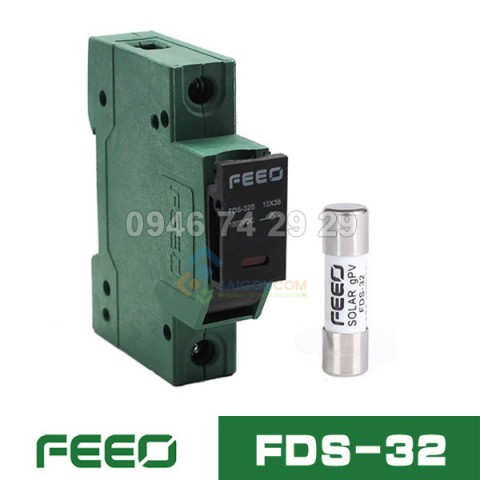 Bộ cầu chì DC FEEO FDS-32 1000VDC