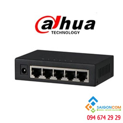 Switch Poe DAHUA 5 Port PFS3005-5GT