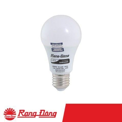 Bóng đèn LED Bulb tròn Rạng Đông 9W | A60N1/9W.H