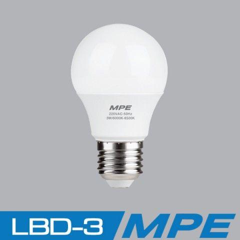 Đèn LED Bulb MPE 3W | LBD-3