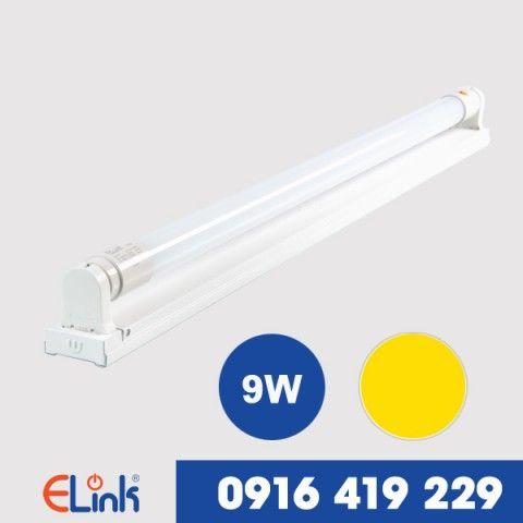 Bộ bóng đèn LED tuýp nhựa 9W ánh sáng vàng ELINK EMB-9V