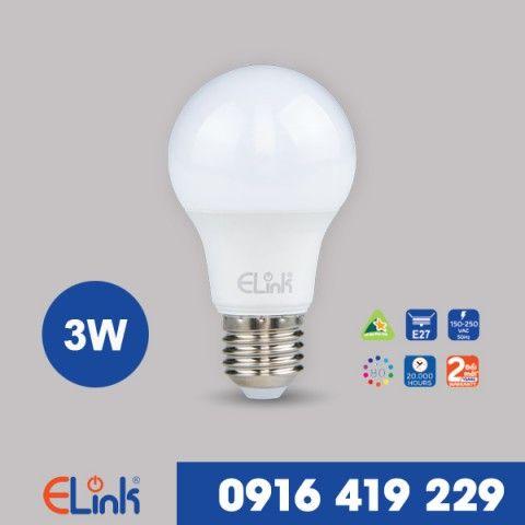 Bóng Đèn LED tròn ELINK 3W | EBB-A-3