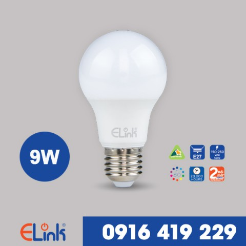 Bóng Đèn LED tròn ELINK 9W | EBB-A-9