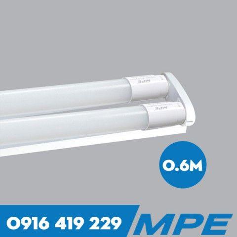 Bộ 2 bóng đèn LED tuýp thủy tinh - 9W - 6 tấc MPE MGT-210T/V