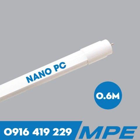 Bóng Đèn LED tuýp T8 Nano PC - 9W - 6 tấc MPE NT8-60T/V