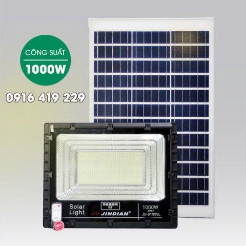 Đèn pha năng lượng mặt trời 1000W | JD-81000L