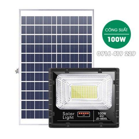 Đèn pha năng lượng mặt trời  100W | JD-8800L