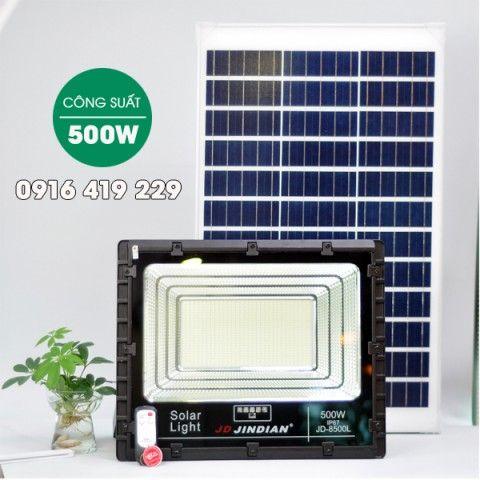 Đèn pha năng lượng mặt trời 500W   JD-8500L