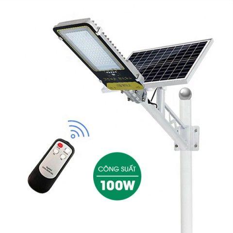 Đèn đường năng lượng mặt trời 100W | JD-399