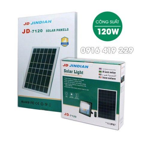 Đèn pha năng lượng mặt trời 120W JD-7120