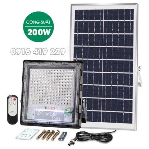 Đèn pha năng lượng mặt trời Jindian 200w (JD-7200 )