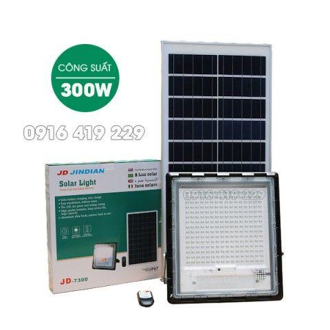 Đèn pha năng lượng mặt trời 300W - JD-7300