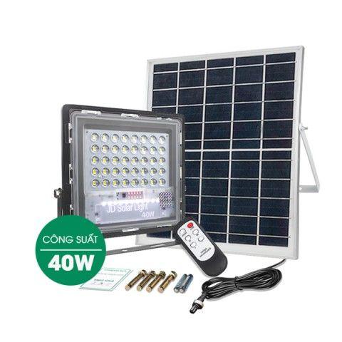 Đèn pha năng lượng mặt trời 40W JD-740