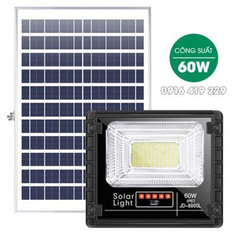 Đèn pha năng lượng mặt trời  60W | JD-8860L